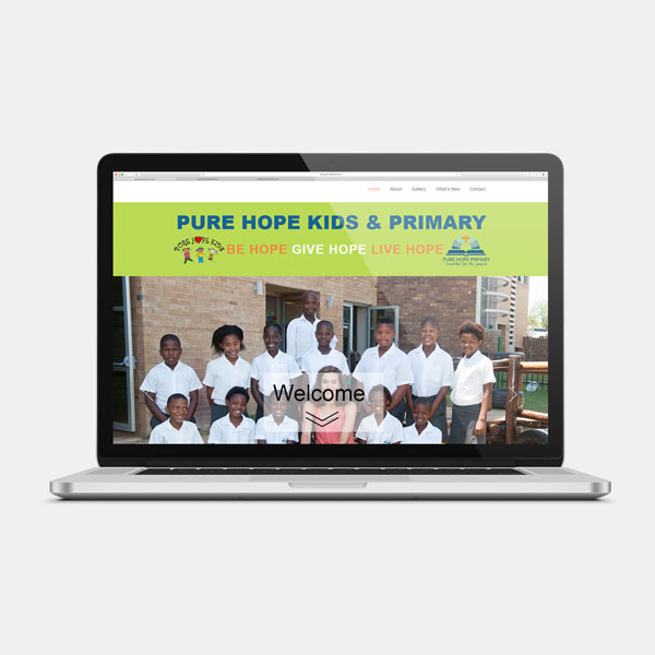 Pure Hope Website
